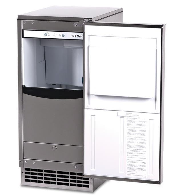 Ice-O-Matic GEMU090 - 85 lb Pearl Ice Self-Contained Ice Machine Ice machine sold by Elite Restaurant Equipment