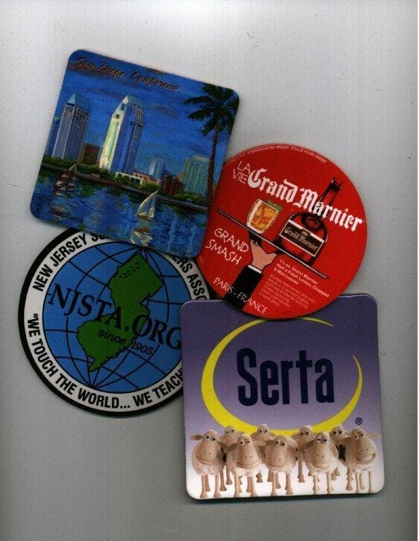 Laminated coasters(LCCB) Promotional product sold by Coasters Plus
