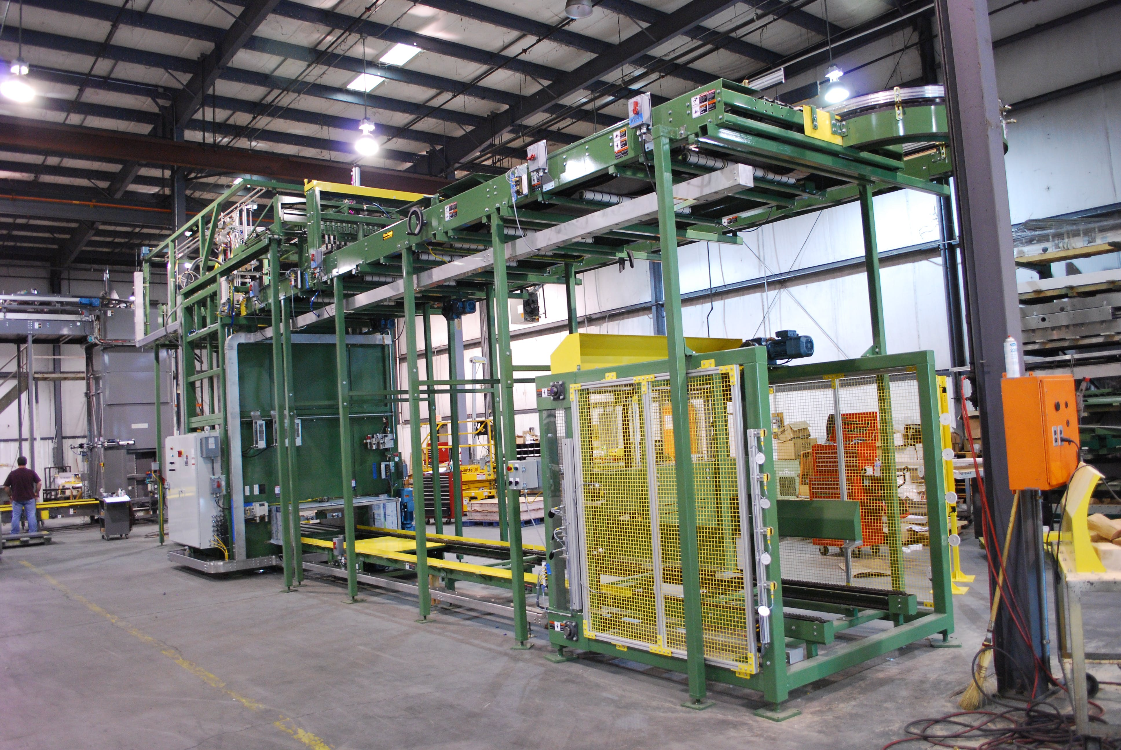 Palletizers Palletizer sold by Alliance Industrial Corporation