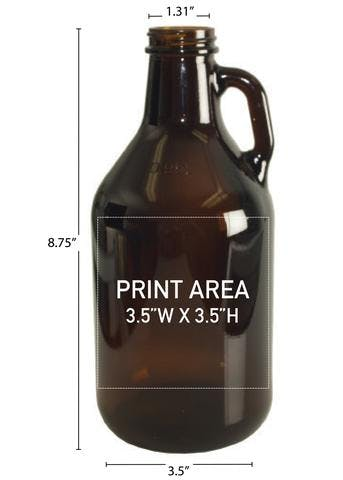 32 OZ. MINI GROWLER #351 Growler sold by Clearwater Gear