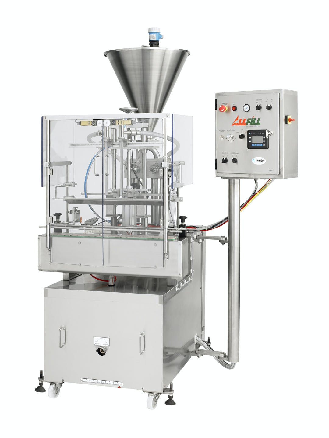 Piston Liquid Fillers Complete Liquid Packaging System sold by All-Fill