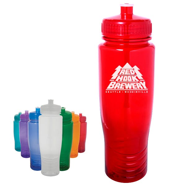 24 oz. Polyclean Auto Bottle Promotional water bottle sold by MicrobrewMarketing.com