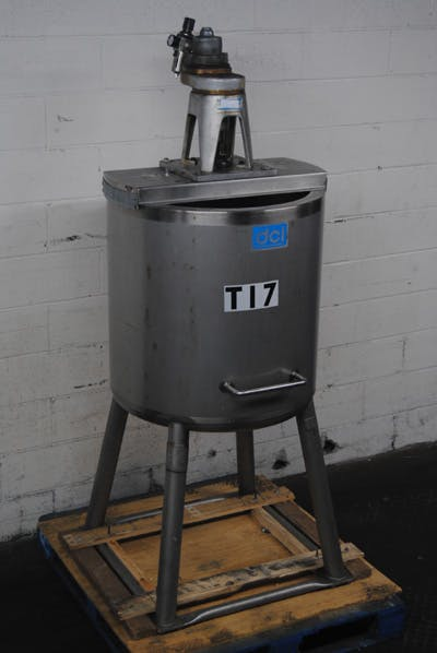 DCI 60-GALLON STAINLESS STEEL TANK Mixing tank sold by Union Standard Equipment Co