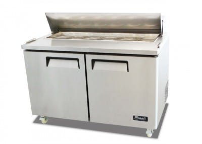 Migali Sandwich Prep C-SP60-16 Food prep table sold by pizzaovens.com