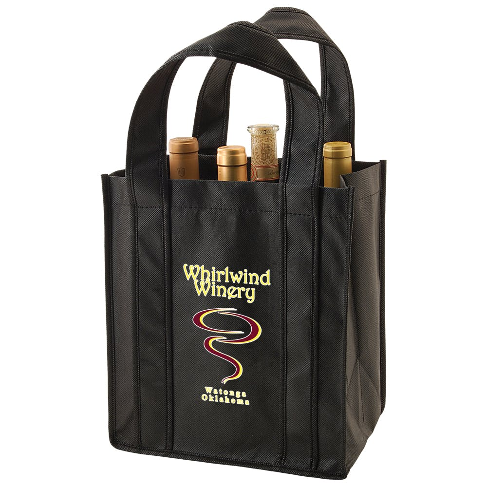 Re-Usable Wine Tote Bag sold by ARROW PAPER CO