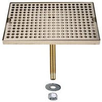 "DP-820D-18- 18""L x 8""W Stainless Steel Drip Tray with Drain Drip tray sold by Beverage Factory"
