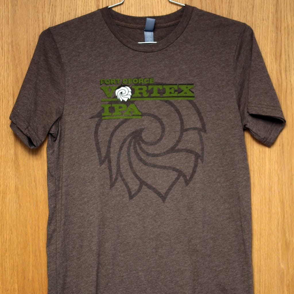 50/50 Tee - Fort George - Vortex Promotional shirt sold by Brewery Outfitters