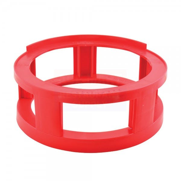 Red Plastic Stack and Tap Keg Spacer