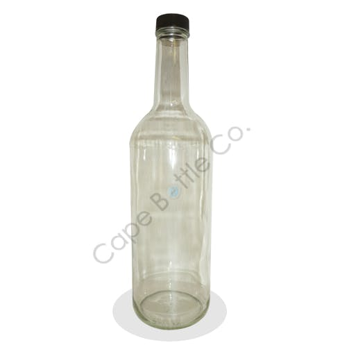 750ml. Glass liquor bottle Liquor bottle sold by Cape Bottle Company, Inc.