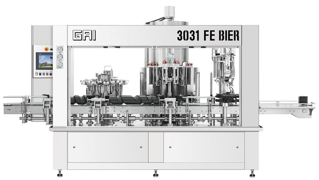 GAI 3031 FE BIER Monoblocks Monoblock sold by Prospero Equipment Corp.