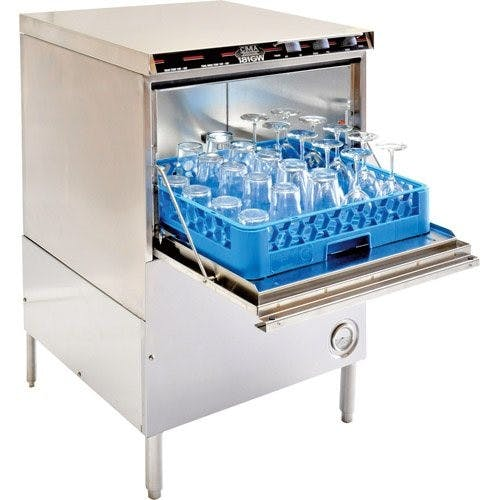 CMA Dishmachines 181GW Undercounter Glasswasher, High Temp, Engery Mizer Commercial glass washer sold by Mission Restaurant Supply