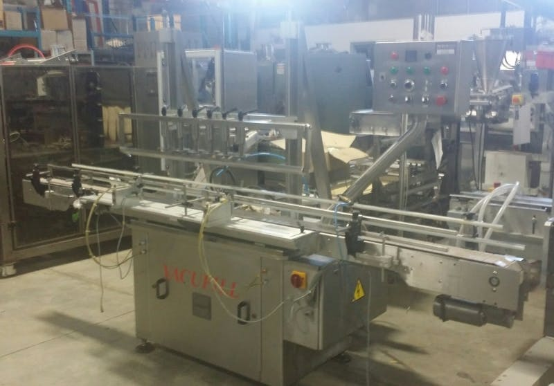 CAPMATIC VACUFILL 6 Automatic Vacuum Filler (Used) - sold by Aevos Equipment