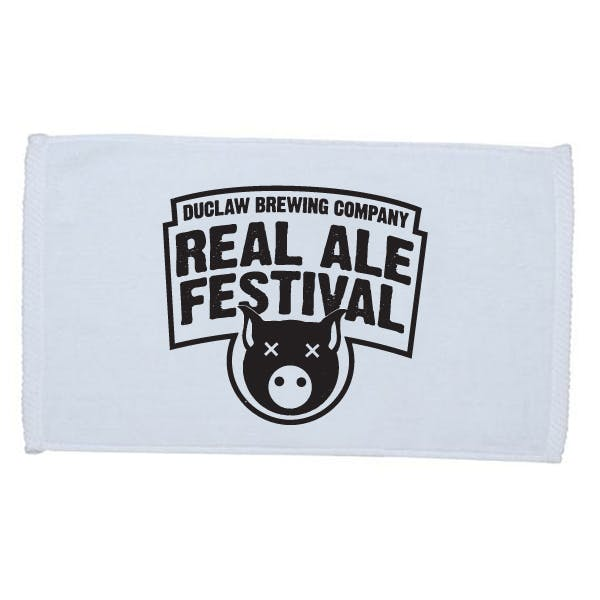 Velour Finger Tip Towel (embroidered) Promotional product sold by MicrobrewMarketing.com