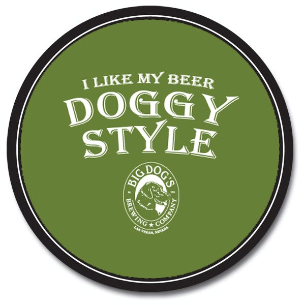 3.75 in Round Coaster (35 Pt) -Custom Quote Drink coaster sold by MicrobrewMarketing.com