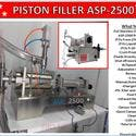 ASP-2500 Single Head Electric & Air Piston Filler /Fills Liquid, Oil, Gel - E-liquid bottle sold by Pro Fill Equipment