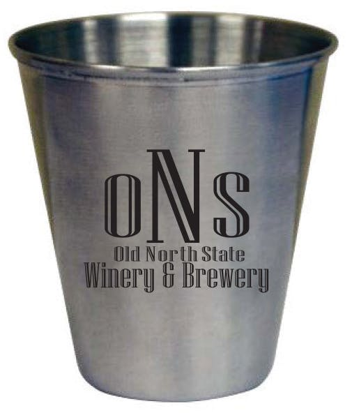 3 oz. Stainless Steel Shot Shot glass sold by Prestige Glassware