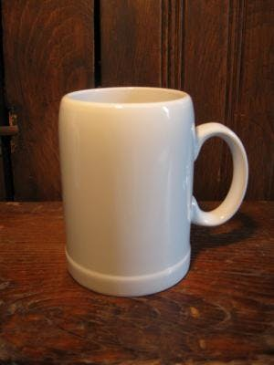 22 oz Tankard Ceramic mug sold by Promotional Concepts of Wisconsin