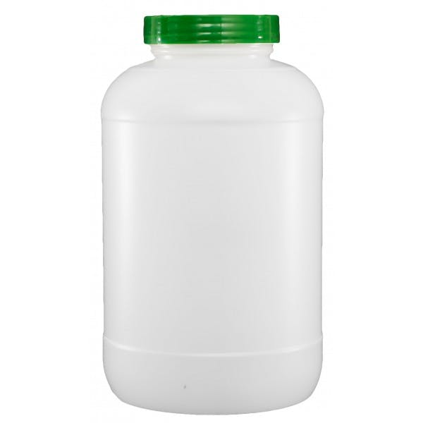 1 gal. Plastic Bar Storage Container w/ Green Lid