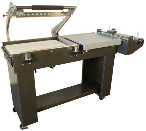 Semi-Automatic L-Bar Sealer Shrink wrapper sold by Sealer Sales