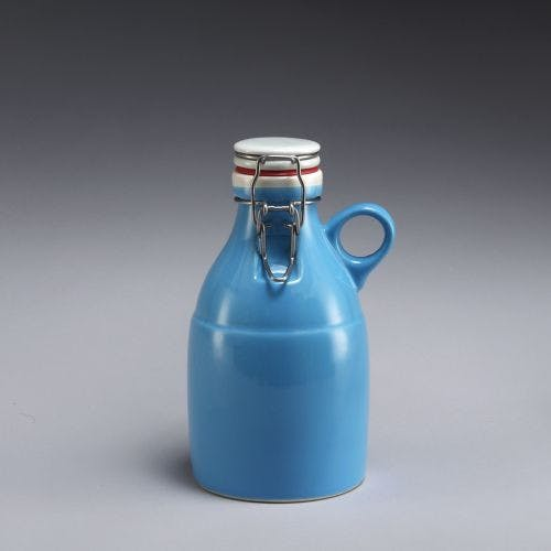The Loop Growlette - Blue 32oz Growler sold by Portland Growler Company