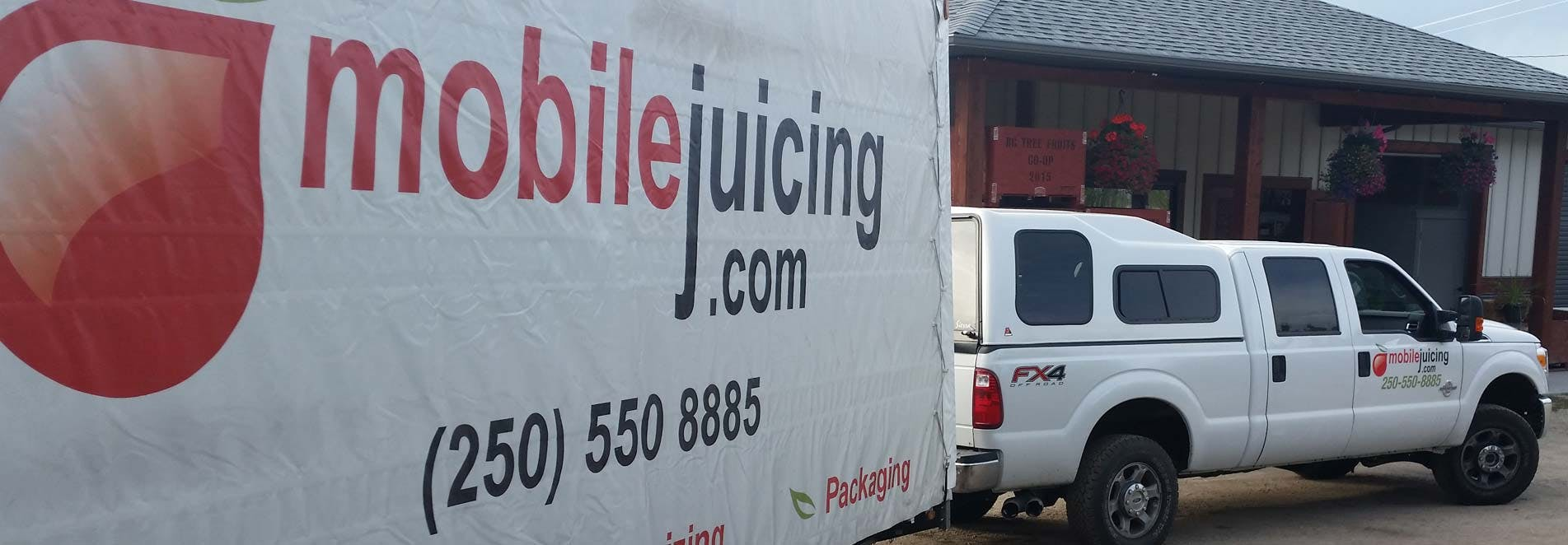 Complete Unit - Mobile Juicing Trailer KML - sold by Juicing Systems