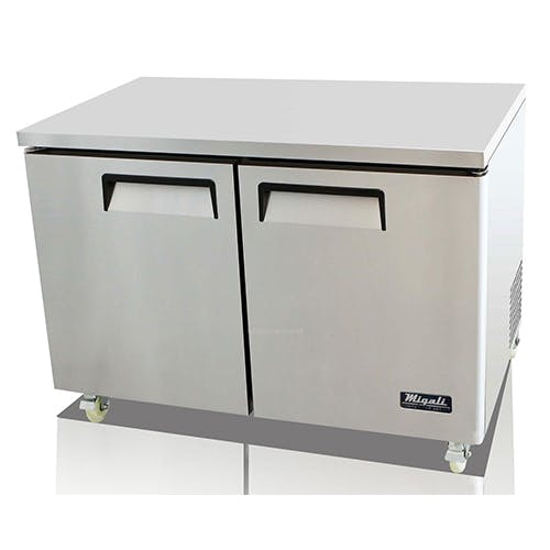 Migali C-U48F Migali Two Door Freezer Commercial freezer sold by Pizza Solutions