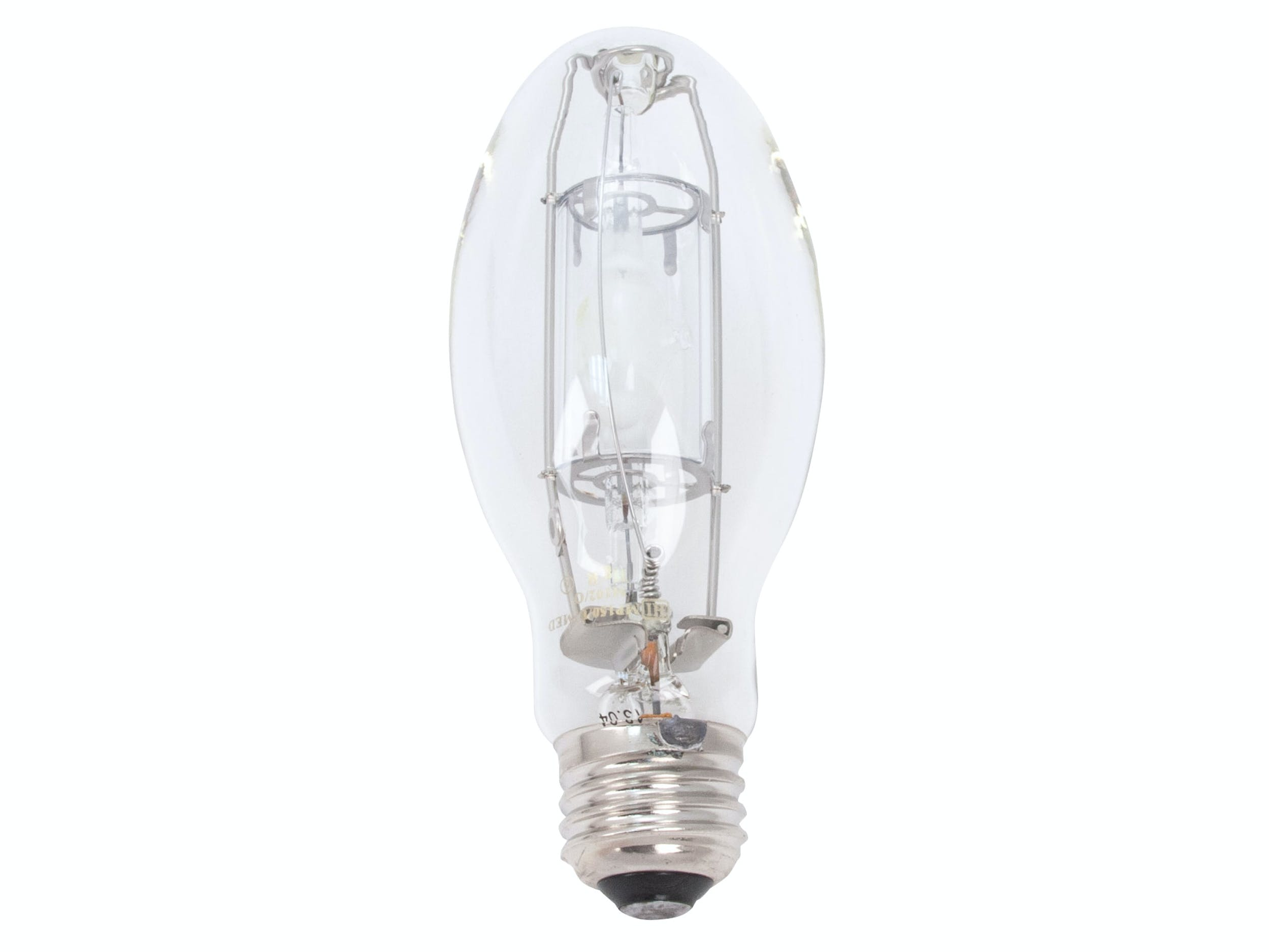 150W Clear Medium Base Protected Metal Halide ED17-P Lamp - sold by RelightDepot.com