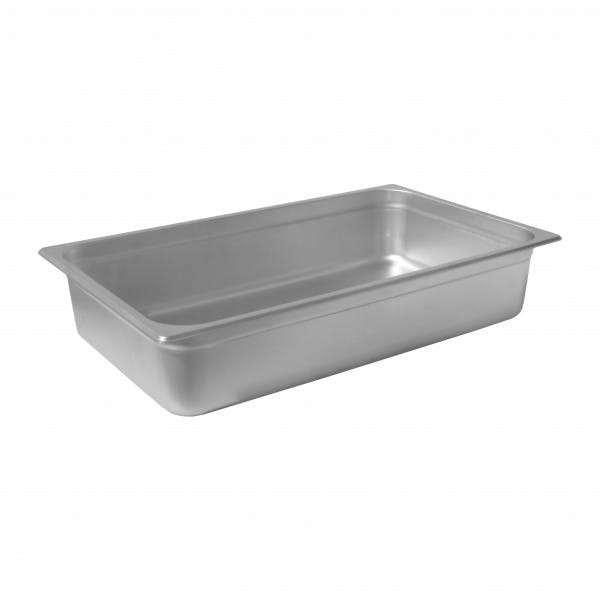 "4"" Full Size Stainless Steam Table Pan"