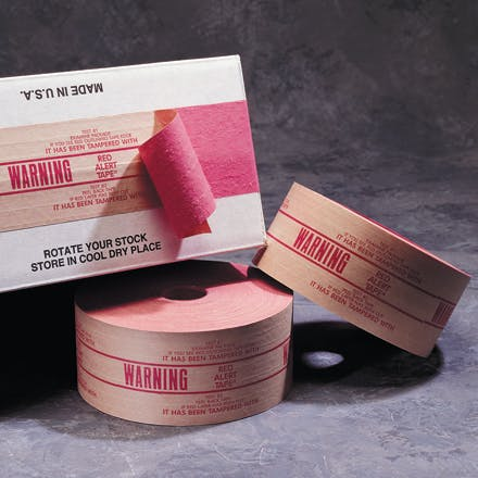 Central™ Pre-Printed Reinforced Kraft Tape Kraft packaging sold by Ameripak, Inc.