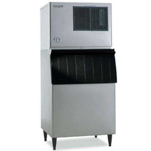 Hoshizaki KML631MAH-B500PF Commercial Ice Maker, Low Profile Modular Cuber 636 Lb. with 360 Lb. Bin Ice machine sold by Mission Restaurant Supply