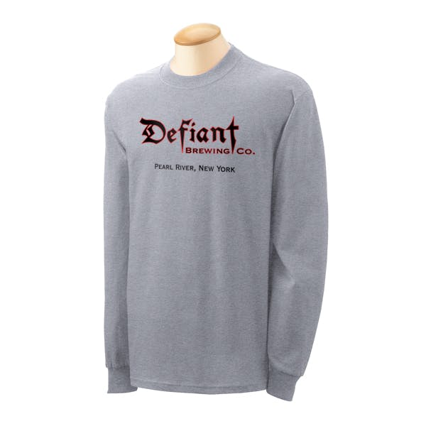 Gildan Heavy Cotton 5.3 oz. Long-Sleeve T-Shirt Promotional shirt sold by MicrobrewMarketing.com
