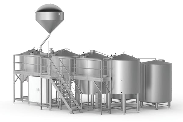30 BBL Brewhouse - sold by Prospero Equipment Corp.