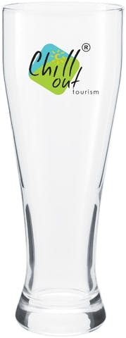 Giant Pilsner 23 oz. Beer glass sold by Distrimatics, USA