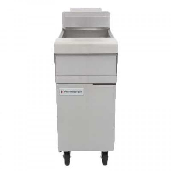 40 lb. Stainless NG Fryer