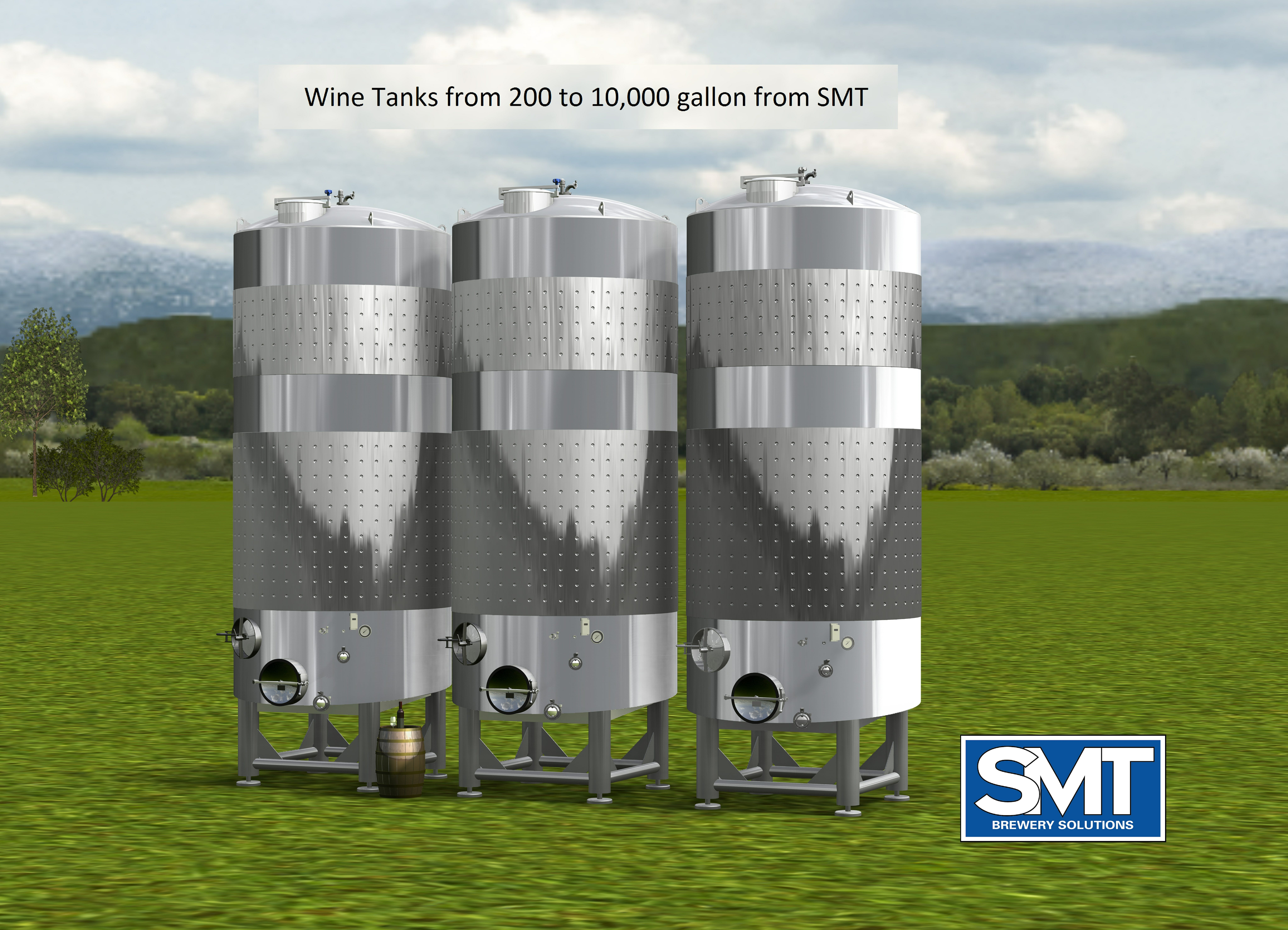 Wine Tanks Wine tank sold by Smart Machine Technologies, Inc
