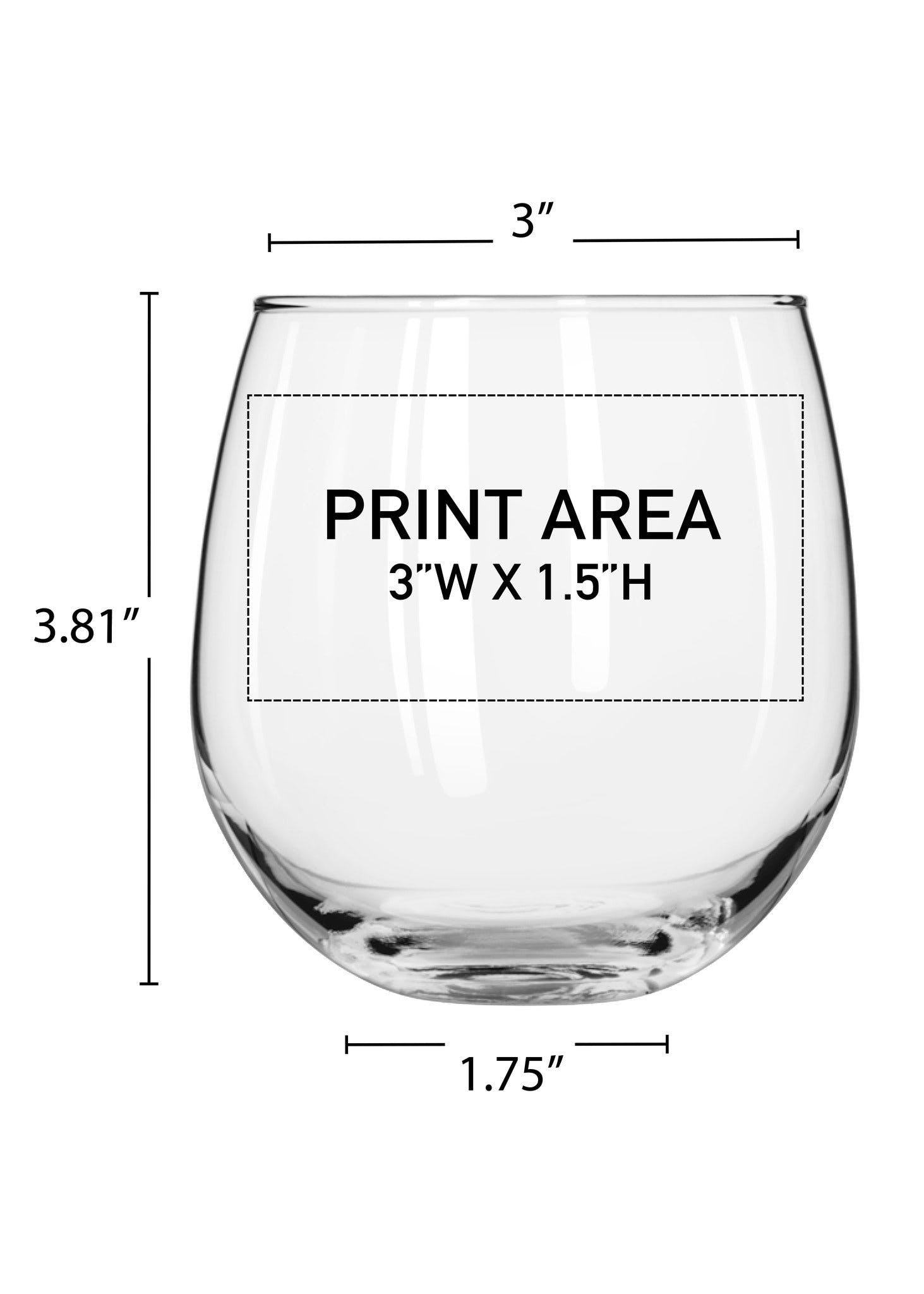16.75 oz. Stemless Wine #615 - sold by Clearwater Gear