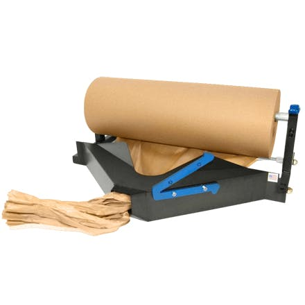 Kraft Paper Crumpler Paper cutter sold by Ameripak, Inc.