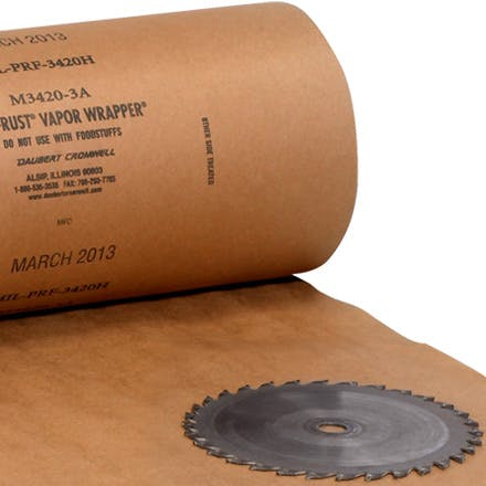 VCI Paper Mil Spec Roll Paper packaging sold by Ameripak, Inc.