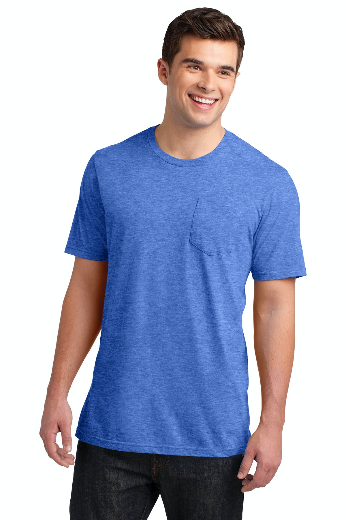 District® Young Mens Very Important Tee® with Pocket - sold by PRINT CITY GRAPHICS, INC
