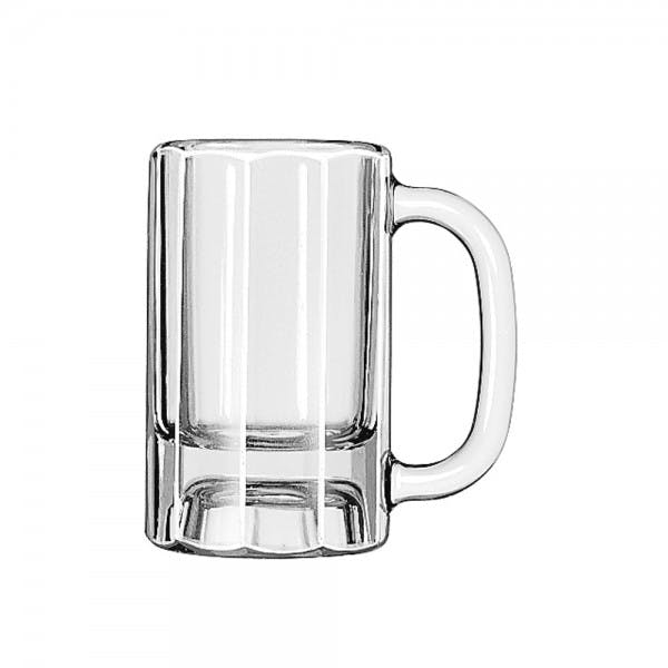 10 oz. Paneled Glass Beer Mug