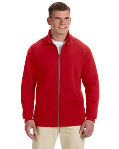 G929 Gildan Premium Cotton® 9 oz. Fleece Full-Zip Jacket Promotional apparel sold by Lee Marketing Group
