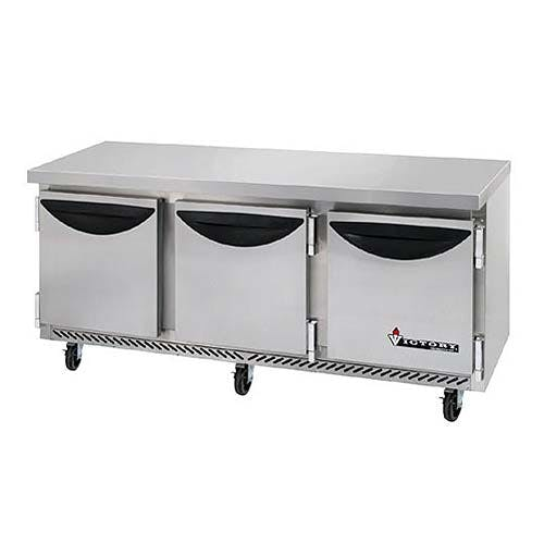 "Victory - VUR-72-SST 72"" Worktop Refrigerator Commercial refrigerator sold by Food Service Warehouse"