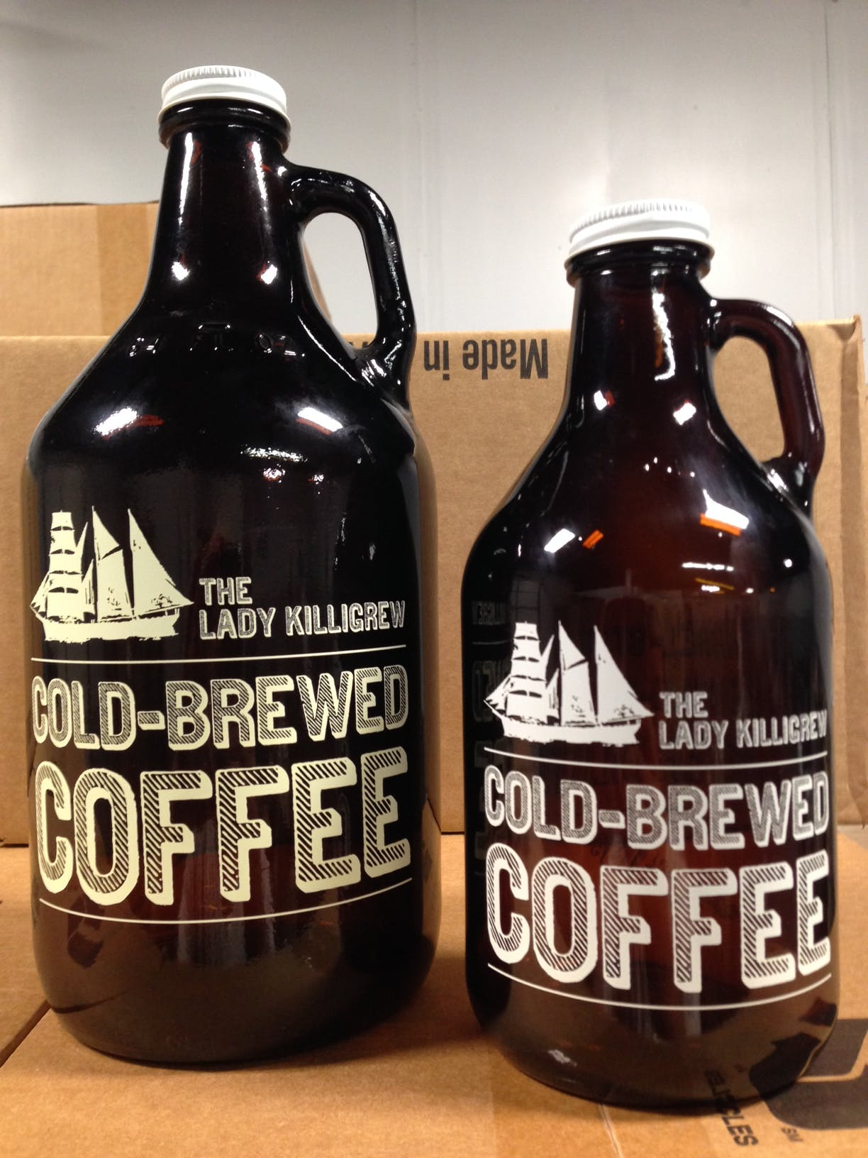 Coffee Growler Growler sold by Flour City Growlers