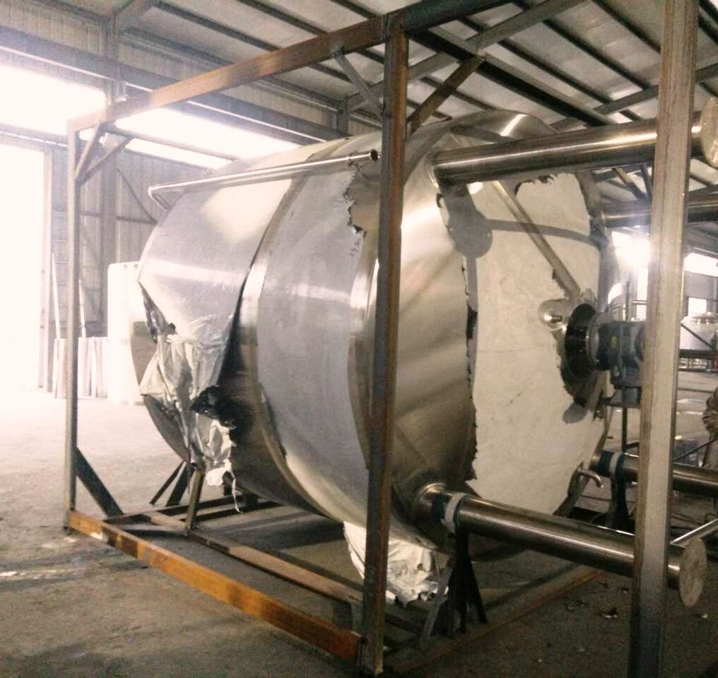 60 BBL Mash Tun ready to ship Mash tun sold by Prettech Canada