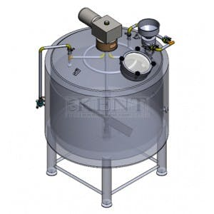 Distiller Mash Tun 500 gallon Mash tun sold by GW Kent