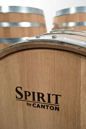 Spirit barrel for bourbon, whiskey, rum, tequila or brandy... Whiskey barrel sold by Canton Wood Products Company, LLC