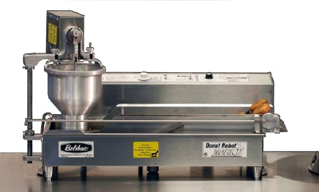 Belshaw Adamatic by Unisource Mark II - Donut Robot Electric Automatic Fryer Commercial fryer sold by Elite Restaurant Equipment