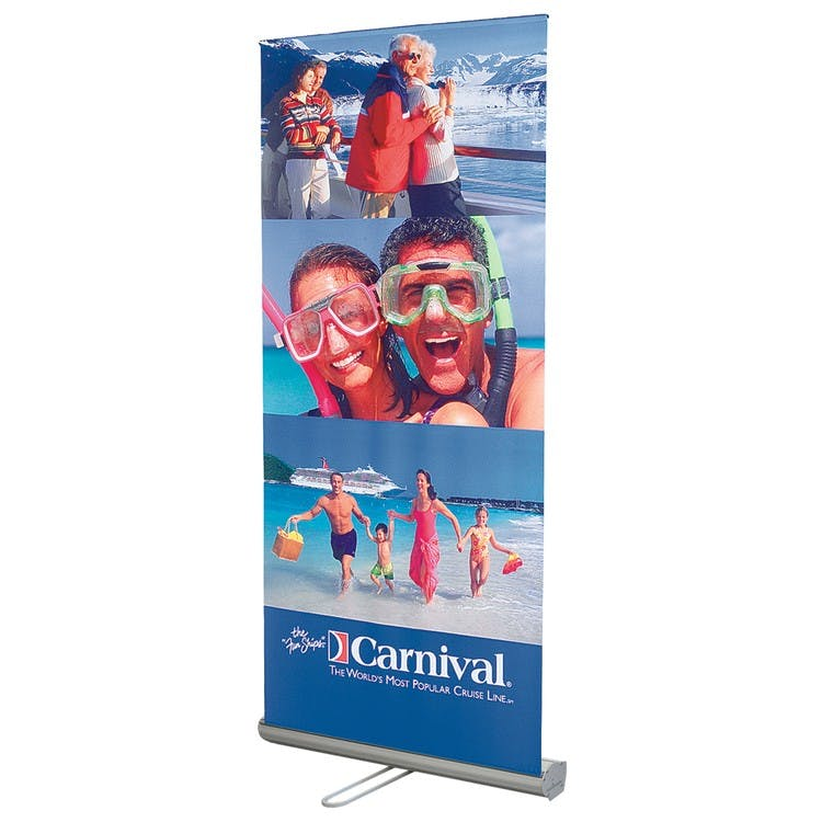 Retractable Banners Promotional product sold by TAP PRODUCTIONS & CREATIVE GROUP, INC. II