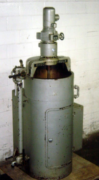 RASCH MODEL TR-2 200 KG/HR TEMPERING UNIT - sold by Union Standard Equipment Co