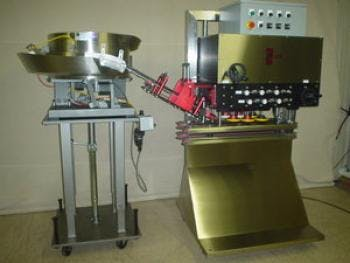Automatic Spindle Capper/Vibratory Feeder Bottle capper sold by MSM Packaging Solutions